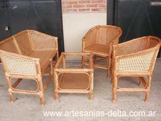 Muebles en mimbre for Muebles de mimbre en valencia